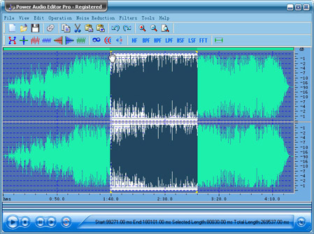 Power Audio Editor Pro Screenshot