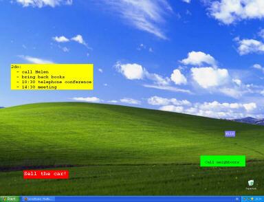 VSFNotes Screenshot 1