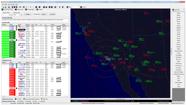 AirNav Live Flight Tracker Screenshot 1