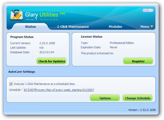Glary Utilities Screenshot 3
