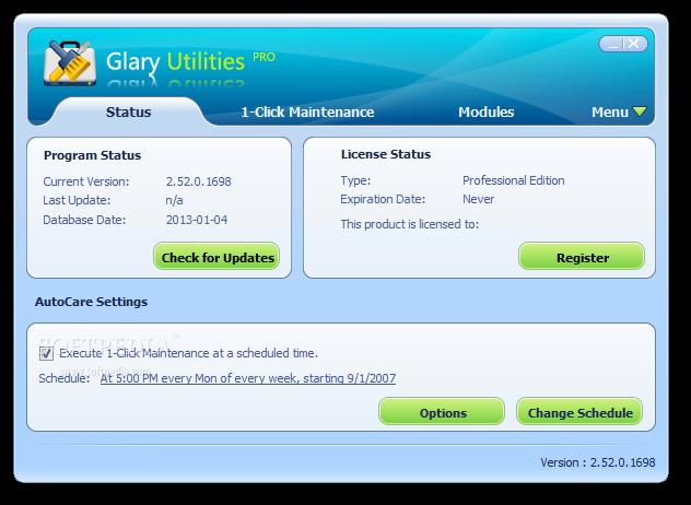 Glary Utilities Screenshot 2