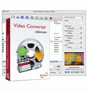 Xilisoft Video Converter Ultimate for Mac Screenshot 1
