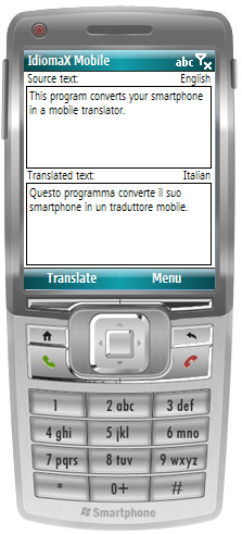 IdiomaX Mobile Translator Screenshot