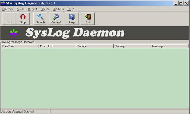 Star Syslog Daemon Lite Free Suite Screenshot 1