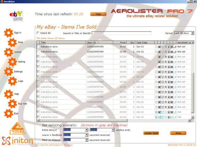 Aerolister Pro 7 Screenshot