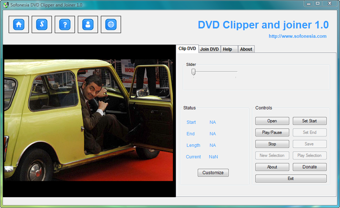 DVD Clipper and Joiner Screenshot 1