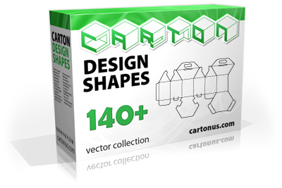 Carton design shapes PACK Screenshot