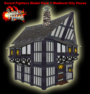 Model Pack 1 Medieval City House Screenshot 1