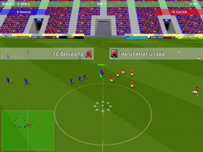 New Star Soccer 4 Mac OS Screenshot
