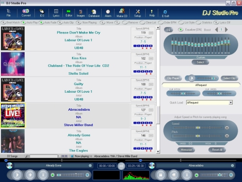DJ Studio Pro Screenshot
