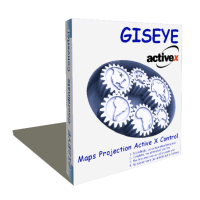 GISEYE Map Projection ActiveX Screenshot