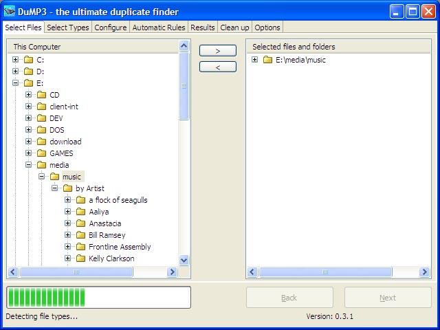 DuMP3 for Windows x86 Screenshot