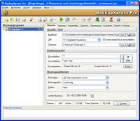 BackupXpress Pro(HOME/PRIVAT) Screenshot 1