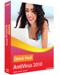 Quick Heal AntiVirus Pro 2013 Screenshot 1