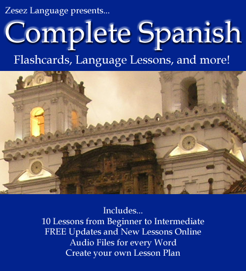 Zesez Language Complete Spanish Screenshot
