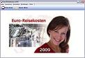 Euro-Reisekosten 2009 AT for Austria Screenshot