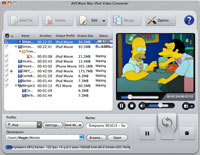 AVCWare Mac iPod Video Converter Screenshot
