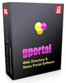 GPortal Web Directory & News Portal 2009 (inc. SEO OPT.) Screenshot