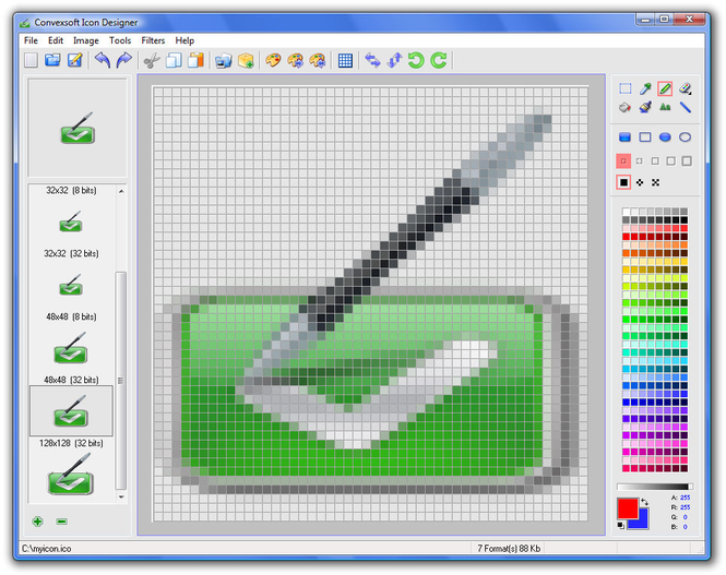 ConvexSoft Icon Designer Screenshot
