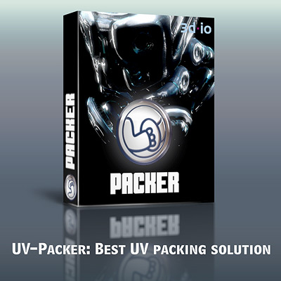 UV_Packer plug-in for 3D Studio MAX (single-seat license) Screenshot 1