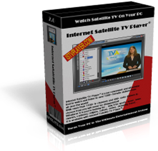 Internet Satellite TV Player Screenshot