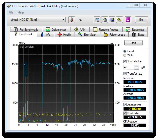 HD Tune Screenshot 3