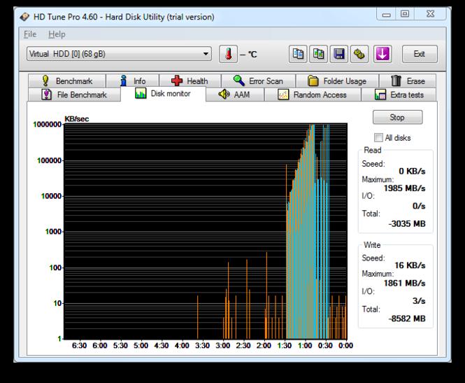 HD Tune Screenshot 2