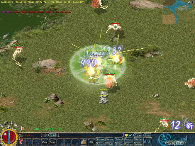 Conquer Online Screenshot