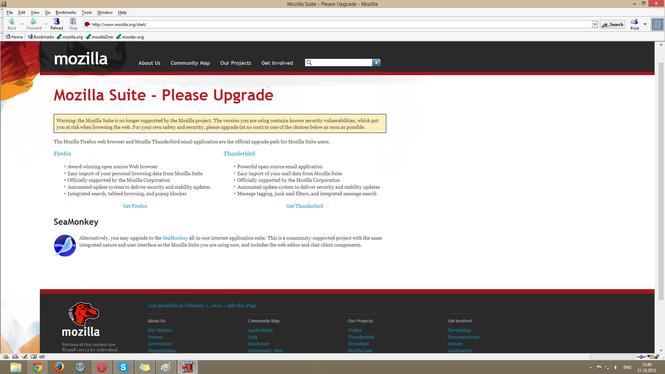 Mozilla Suite Screenshot 3