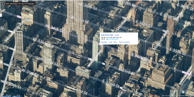 Bing Maps 3D Screenshot 4