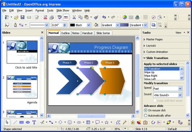 OpenOffice Screenshot 5