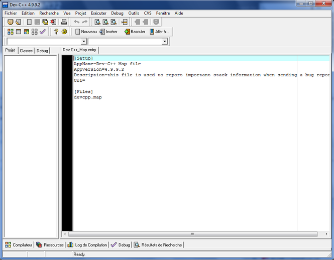 DEV-C++ Screenshot 1