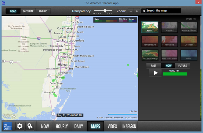 The Weather Channel Desktop Screenshot 6