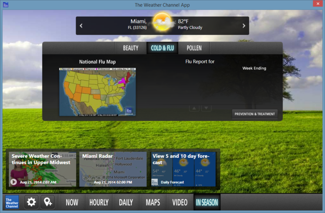 The Weather Channel Desktop Screenshot 8