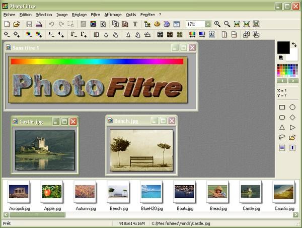 PhotoFiltre Screenshot 2