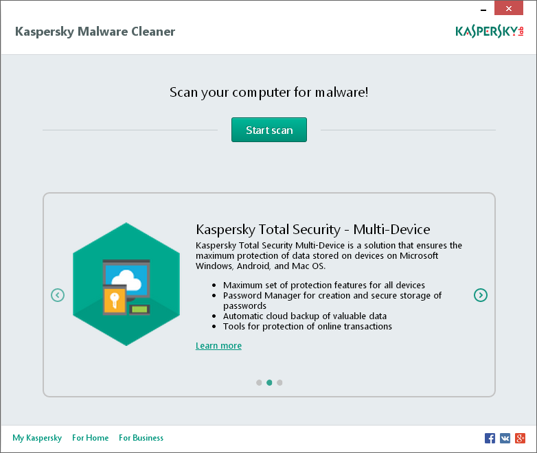 Download Kaspersky Virus Removal Tool 15 0 0 120