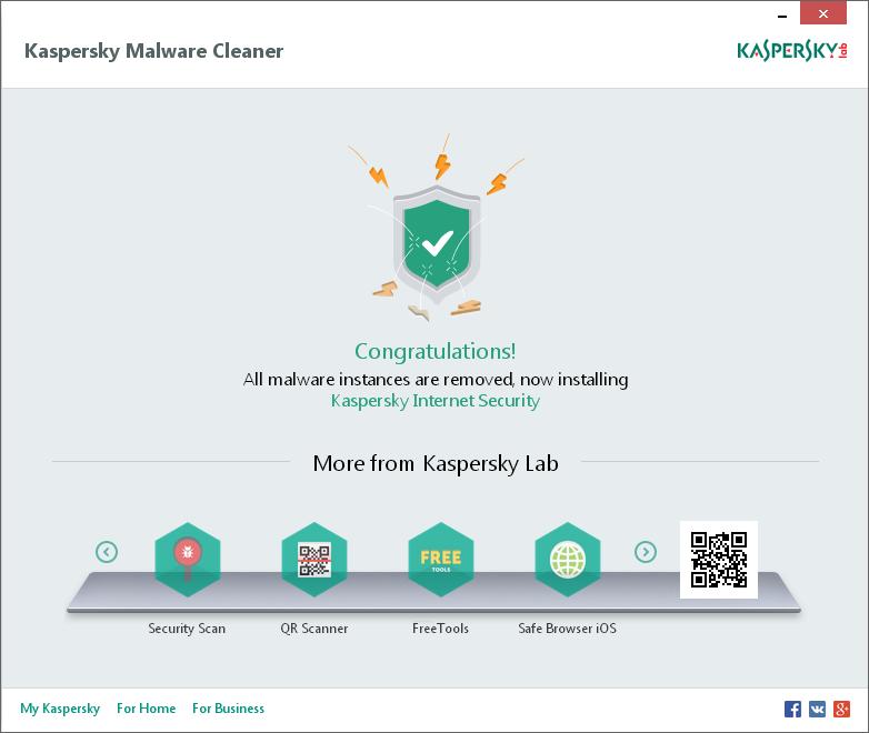 Kaspersky Virus Removal Tool Screenshot 4