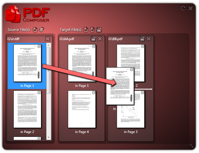 PDF Composer Screenshot 1