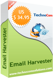 Email Harvester Screenshot