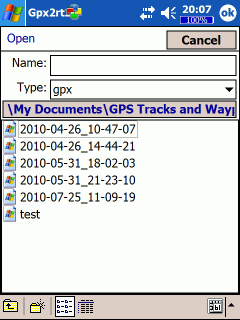 Gpx2rt2 Screenshot
