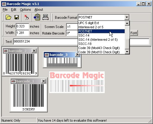 BulletProof Barcode Magic Screenshot