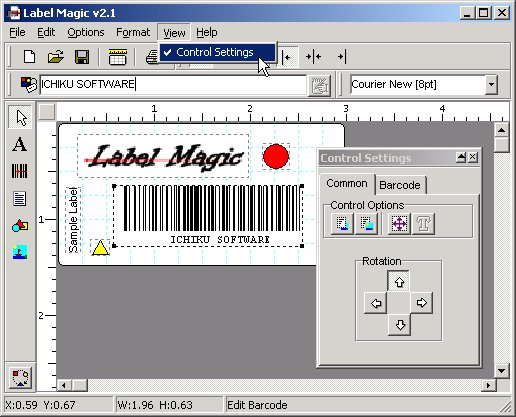BulletProof Label Magic with Barcodes! Screenshot