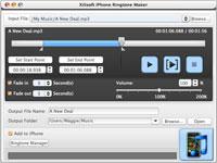 Xilisoft iPhone Ringtone Maker for Mac Screenshot 2