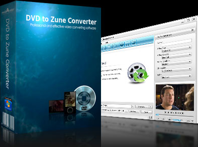 MVC DVD to Zune Converter Screenshot 1