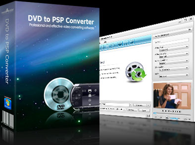 MediaVideoConverter DVD to PSP Converter Screenshot
