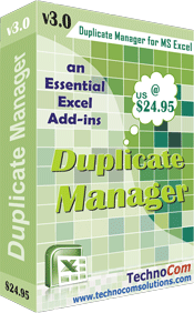 Excel Duplicate Manager Screenshot 3