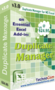 Excel Duplicate Manager 3