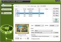 Oposoft DVD To iPhone Converter Screenshot