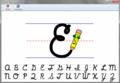 Pencil Pete's Cursive Handwriting 1