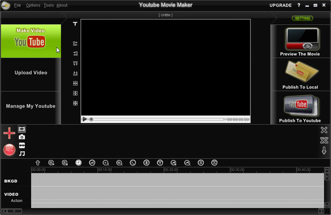 Youtube Movie Maker Screenshot